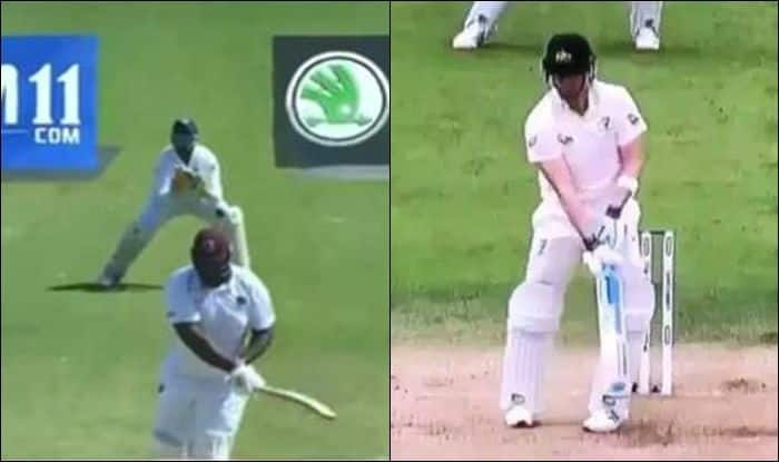 Rakheem Cornwall, Rakheem Cornwall weight, Rakheem Cornwall heaviest cricketer, Rakheem Cornwall age, Rakheem Cornwall catch, Rakheem Cornwall batting, India vs West Indies, Ind vs WI, WI vs Ind, Cricket News, Jamaica, Steve Smith records, Steve Smith leaving the ball,