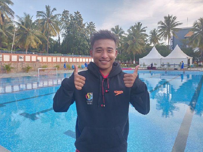 Swimming, Ramananda Sharma, Asian Group Championships