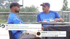 Surely, That's Not Coffee! Shastri Hilariously TROLLED | POSTS