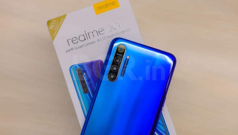 Realme XT update rolling out with camera improvements and latest Android security patch
