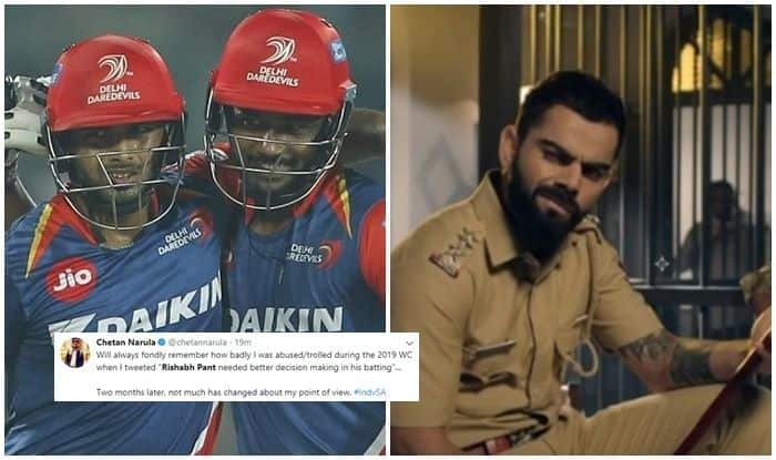 Rishabh Pant, Rishabh Pant trolled, Rishabh Pant age, Rishabh Pant girlfriend, Rishabh Pant bad shot, Virat Kohli, MS Dhoni, MS Dhoni age, MS Dhoni records, India vs South Africa, Cricket news