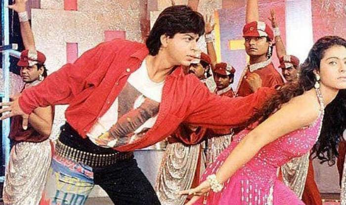 SRK and Kajol from 'Kaali Kaali Aankhen'