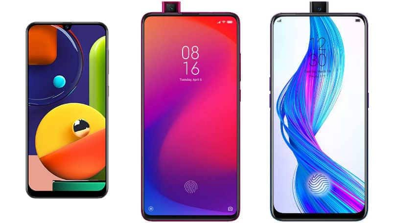 Samsung Galaxy A50s vs Xiaomi Redmi K20 vs Realme X: Price in India, Specifications and Features compared