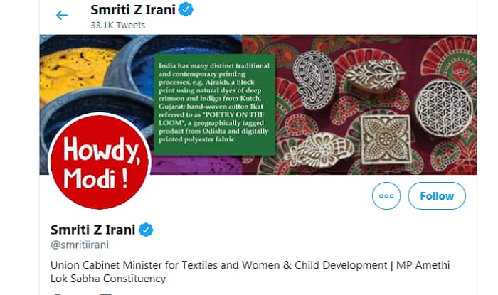 As Mark of Respect, BJP Leaders Change Their Twitter Profile Pictures for 'Howdy, Modi' Event in Houston