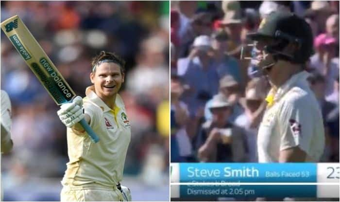 Steve Smith, Steve Smith receives standing ovation, Smith turns boos into claps, Steve Smith wins England crowd during Ashes 2019, Steve Smith wins heart of English cricket fans, Steve Smith in Ashes 2019, Steve Smith records in Ashes, Ashes 2019, England vs Australia, ENG vs AUS 5th Test, Steve Smith dismissed by Stuart Broad, Smith gets standing ovation at Oval, Cricket News, Piers Morgan, Piers Morgan hails Steve Smith, Steve Smith Sandpaper Gate, Steve Smith Booed in England