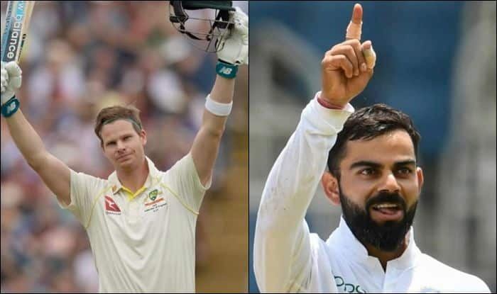 Steve Smith, Steve Smith record, Steve Smith wife, Steve Smith age, Steve Smith runs, Steve Smith centuries, Steve Smith Test ranking, Steve Smith Equals Virat Kohli record, Steve Smith Equals Brian Lara record, Ashes 2019, 4th Ashes Test, Old Trafford, Manchester, World Test Championship, England vs Australia, Australian Cricket Team, Indian Captain Virat Kohli, Brian Lara wife, Brian Lara Records