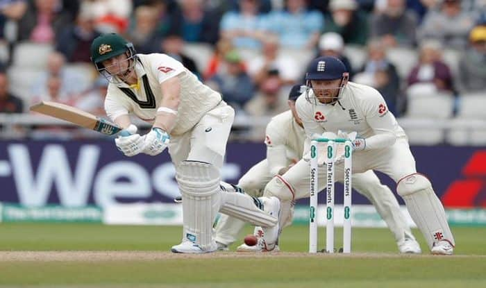 Steve Smith, Steve Smith Record Test Fifty, Ashes 2019, Steve Smith Ashes 2019 Record, Steve Smith registers 8th consecutive fifty-plus score, Steve Smith slams fifty in Manchester, England vs Australia, Steve Smith vs Jofra Archer, Old Trafford, Cricket Fans Hail Steve Smith, Cricket News