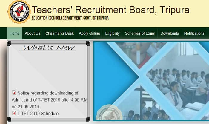 Tripura TET Admit Card 2019 Released on trb.tripura.gov.in | Check Here For More Details