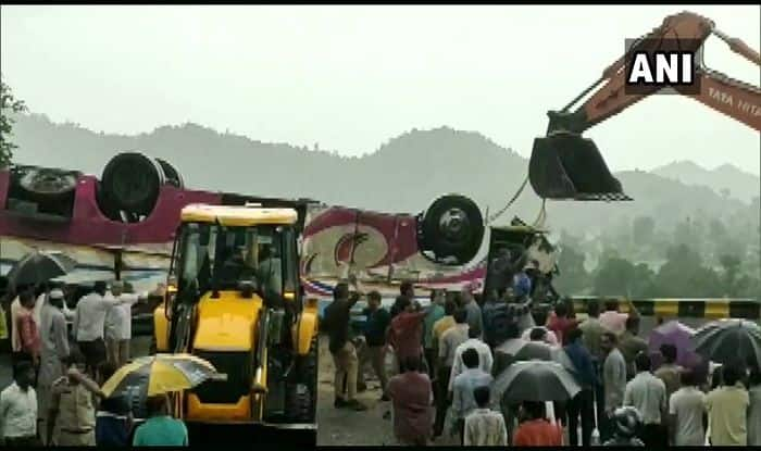 Bus accident in Gujarat