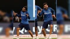 PIC | Kohli's Kiddish Gestures Ahead of 3rd T20I Will Make You ROFL