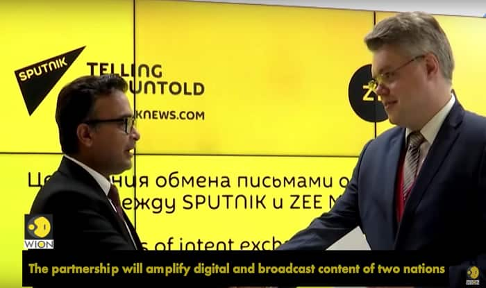 WION, Sputnik Partnership Announced at Eastern Economic Forum in Russia