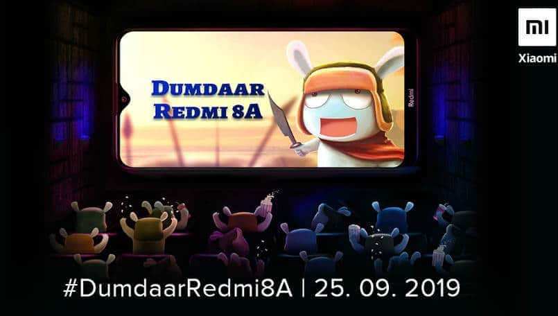 Xiaomi Redmi 8A India launch set for September 25; to offer 5,000mAh battery