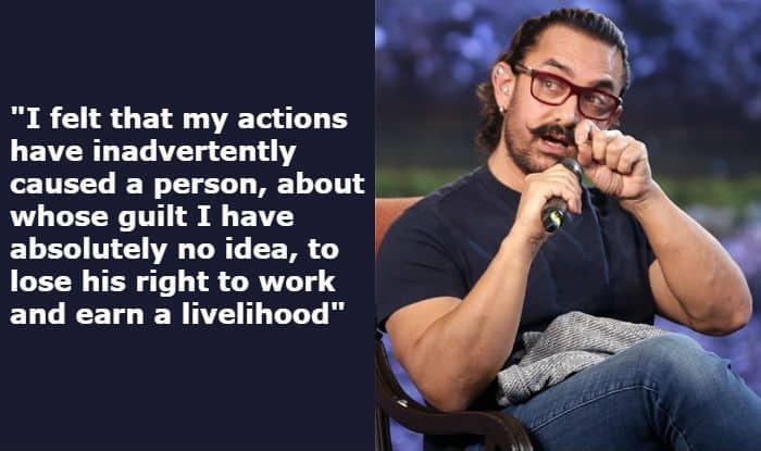 Aamir Khan Agrees to Work With #MeToo Accused Subhash Kapoor in Mogul, Says, 'Can't Decide if He's Guilty or Not'