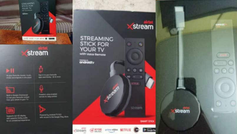 Airtel Xstream Stick pictures show the new dongle inspired by Chromecast and Fire TV Stick