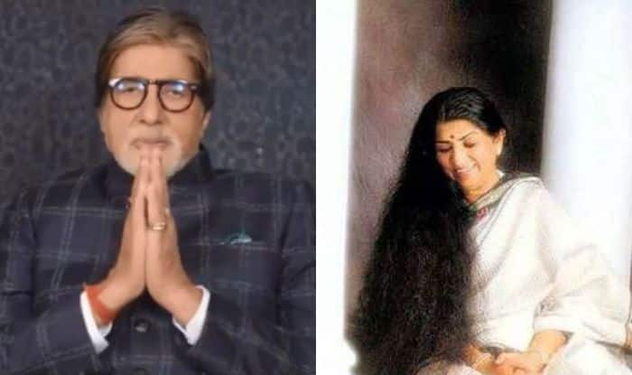 Amitabh Bachchan Pays a Heartfelt Tribute to Lata Mangeshkar on Her 90th Birthday
