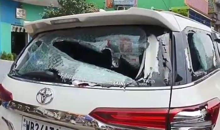 BJP MP Arjun Singh's Car Vandalised Over Clash With TMC Workers in Barrackpore