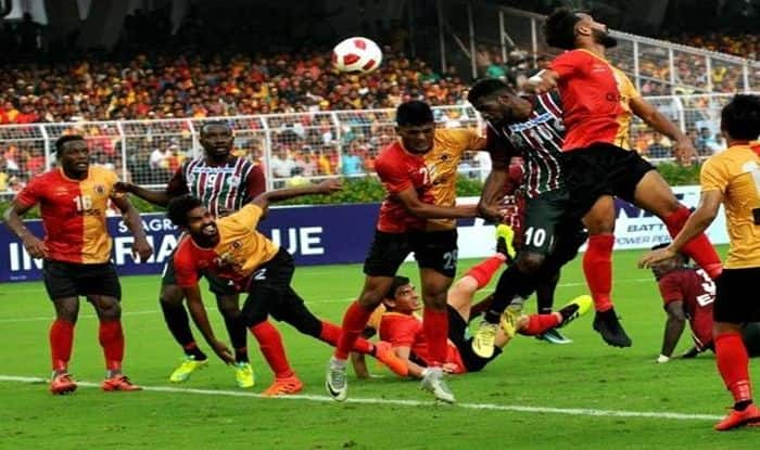 Calcutta Football League 2019-20 Full Schedule, Teams, timings in IST, When and Where to watch Live Streaming Details, Fixtures. Explore more on CFL 2019 at India.com, East Bengal vs Mohun Bagan Calcutta Football League match schedule date timings fixtures, when and where to watch East Bengal vs Mohun Bagan Calcutta Football League match online TV broadcast in India,