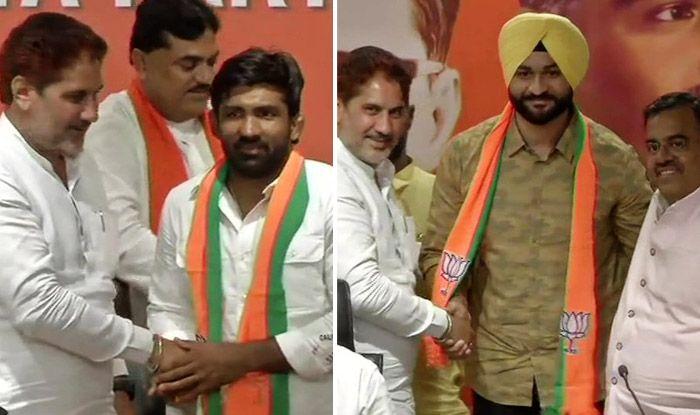 Ahead of Haryana Assembly Polls, Olympian Yogeshwar Dutt, Hockey Player Sandeep Singh Join BJP