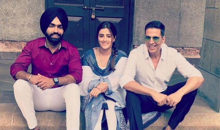 Akshay Kumar Shoots For His First Music Video 'Filhaal' With Nupur Sanon And Ammy Virk- See Pics