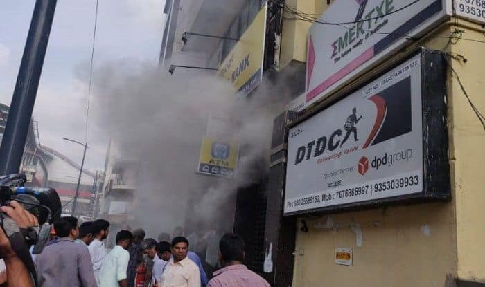 Bengaluru: Fire Breaks Out in UCO Bank Building at MG Road, Many Feared Trapped