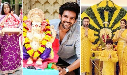 Watch: Bollywood Celebs Celebrate Ganesh Chaturthi, Bring Bappa Home