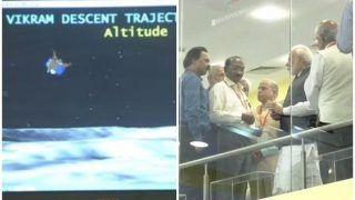 Chandrayaan 2: इसरो ने कहा- विक्रम लैंडर से टूटा संपर्क, कर रहे डेटा का विश्लेषण