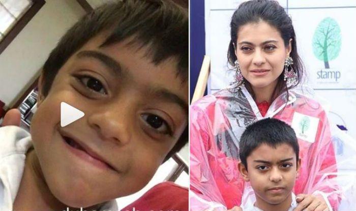 Kajol Devgan Shares an Adorable Throwback Video on Son Yug's Birthday- Watch Here