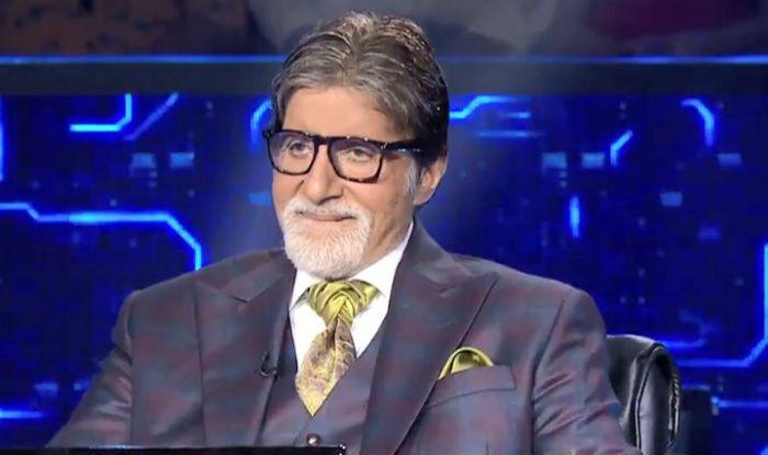 Amitabh Bachchan in KBC 11