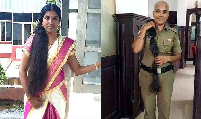 """""""What's in a Look?"""" Kerala Cop Donates Her Knee-Length Hair to Cancer Patients, Anushka Sharma Takes Notice"""