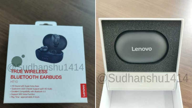 Lenovo might launch truly wireless earbud alongside Carme smartwatch in India tomorrow: Report