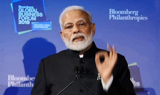 If You Want to Invest in Market Where There is Scale, Come to India: PM Modi at Bloomberg Global Business Forum