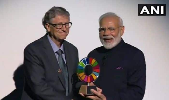 PM Modi Receives Global Goalkeeper Award 2019 For 'Swachh Bharat' Campaign