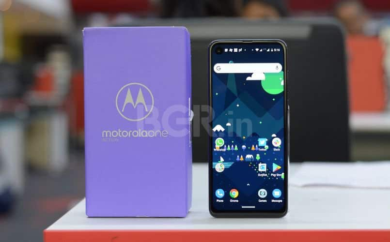 Motorola One Action gets latest Android security update for October 2019