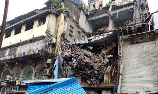 Mumbai: 4-storey Building Collapses at Lokmanya Tilak Road, Rescue Operations Underway