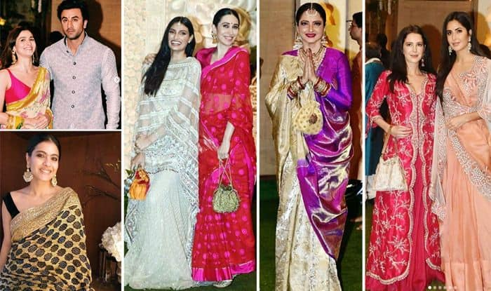 Bollywood celebrities at Nita Ambani's Ganesh Chaturthi bash