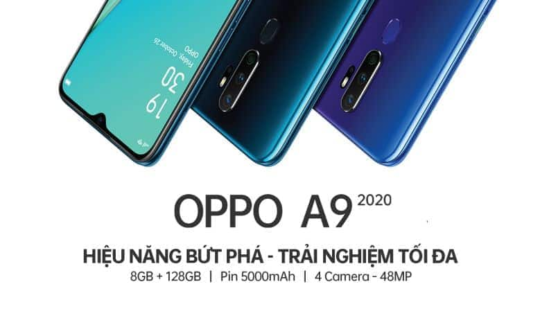 Oppo A9 2020 teased officially with 5,000mAh battery, 48MP quad-camera and more