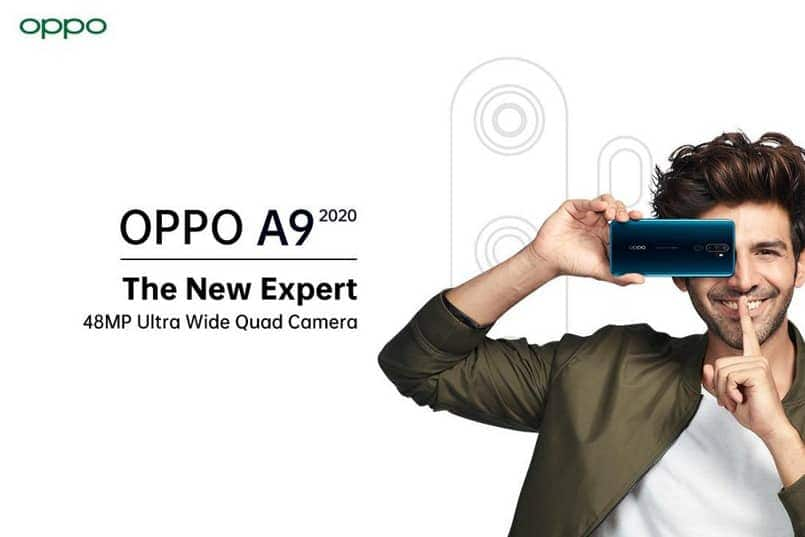 Oppo A9 (2020) with 48MP quad cameras to launch in India on September 16