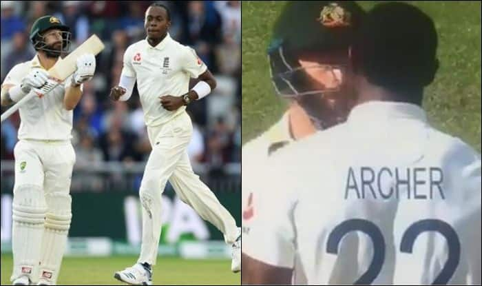 Jofra Archer, Mathew Wade, Jofra Archer stops Mathew Wade from taking run, Archer stops Wade from taking run, Archer blocks Wade, Jofra Archer blocks Mathew Wade, Ashes 2019, 4th Ashes Test, England vs Australia 4th Ashes Test 2019, Jofra Archer stops Mathew Wade from taking run in 4th Ashes Test, Archer blocks Wade in 4th Ashes Test,