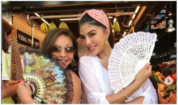 Jacqueline Fernandez Dances on The Streets of Barcelona Like There's No Tomorrow- Watch