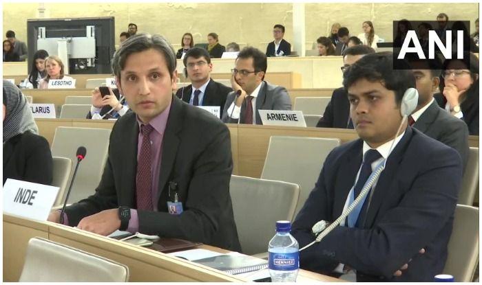 False Narratives Aimed to Politicise, Polarise This Forum: India Rips Apart Pakistan at UNHRC