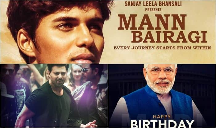 Prabhas unveils first look of Sanjay Leela Bhansali's Mann Bairagi on PM Narendra Modi's 69th birthday