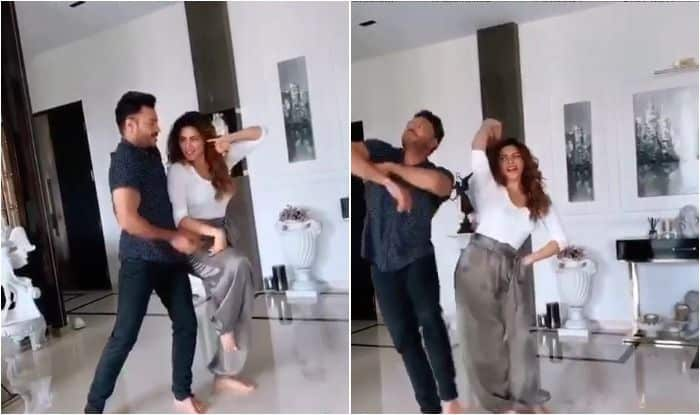 Shama Sikander dances to ghagra with brother Rizwann Sikander