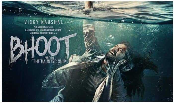Vicky Kaushal drops a new poster of Bhoot Part One -The Haunted Ship on Friday the 13th