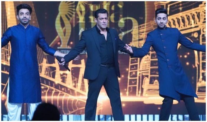 Salman Khan Recreating Shah Rukh Khan's Signature Pose With Khurrana Brothers at IIFA Awards 2019 is Treat For Fans!