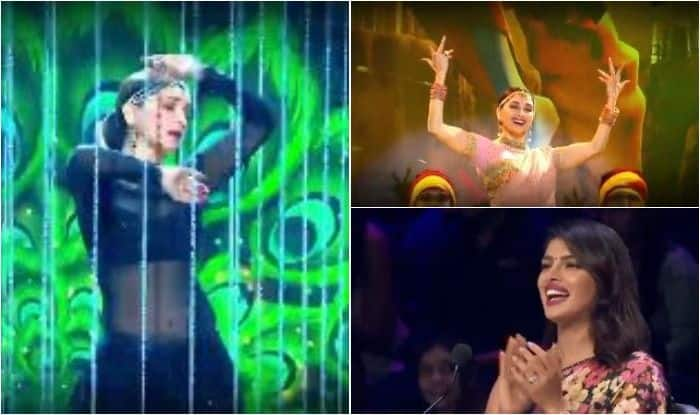 Madhuri Dixit leaves fans and Priyanka Chopra awestruck with her sizzling performance to Kalank's songs at Dance Deewane's grand finale