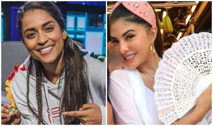 Lilly Singh and Jacqueline Fernandez