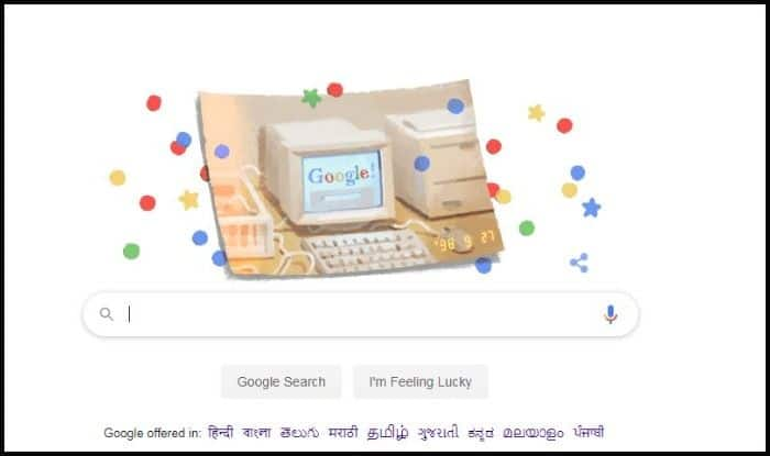 Happy Birthday, Google! This Year on September 27 Search Engine Turns 21, Check The Doodle Here