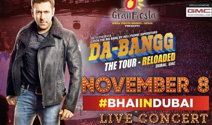 Salman Khan comes back with Da-Bangg Tour 2019 in Dubai