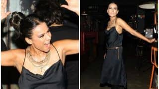 Television Hot Actor Nia Sharma's Birthday Look in All Black Outfit is How You Can Dress up For This Weekend