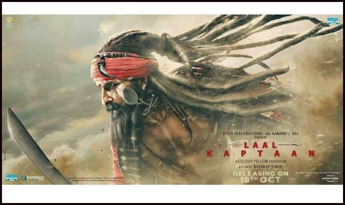 Laal Kaptaan's new poster featuring Saif Ali Khan as Naga Sadhu